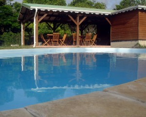 Pool at Resception - Villas rental 2 to 10 guests