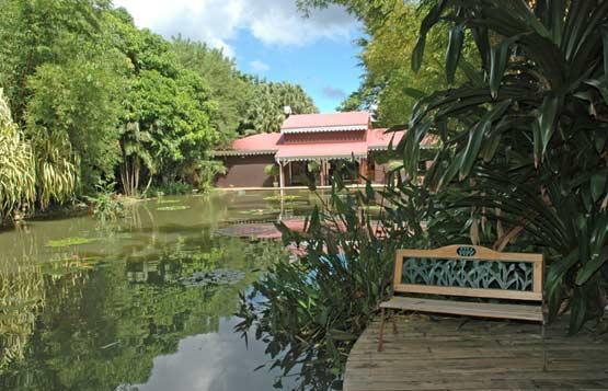 Maison De Coluche Du Jardin Botanique