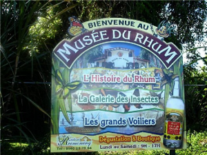 Rum museum at Sainte Rose